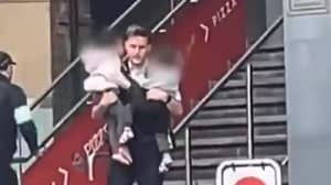 Heroic Police Officer Rescues Two Children From Elephant And Castle Explosion