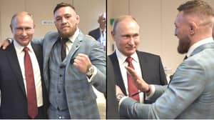 Conor McGregor Says Putin Invited Him To World Cup And Refers To Him As 'One Of The Greatest Leaders'