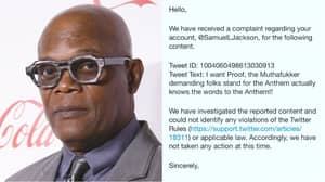 ​Samuel L Jackson Shares Report From Twitter After Appearing To Troll Trump