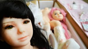 Guy Tries To Get Away With Cheating By Pretending That The Woman Is A Sex Doll