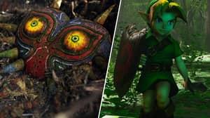 'The Legend Of Zelda: Majora's Mask' Unreal Engine 4 Remake Looks Unbelievable