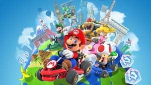 Multiplayer Mode Finally Comes To Smartphone Mario Kart Game