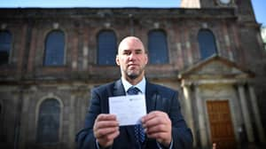 Driver Rejects Parking Ticket Fine Because He Was At Church