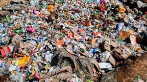 Huge Piles Of Rubbish Show Impact Of Tourism On Mount Everest