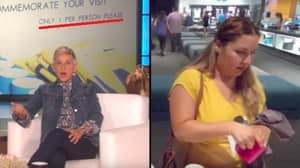 Ellen Degeneres Sets Up Hidden Camera To Catch Guest Stealing