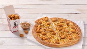 Pizza Hut And KFC Release Popcorn Chicken Pizza To Celebrate National Pizza Day
