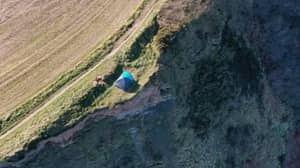 Family Who Camped On Cliff Edge 'Had No Idea Of Danger' They Were In