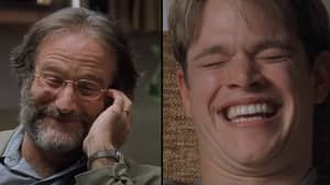 Robin Williams Improvised One Of The Funniest Scenes In 'Good Will Hunting'
