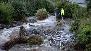 Warning Of More UK Floods After Rescue Operation In Cornwall