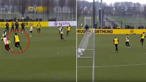 Usain Bolt Scores In Borussia Dortmund Training Trial