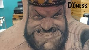 Man Gets Huge Tyson Fury Tattoo As Proud Statement Of His Mental Health Journey