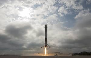 SpaceX Rocket Successfully Lands Back On Earth