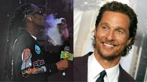 ​Snoop Dogg Got Matthew McConaughey High Without Him Knowing On Set