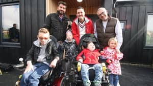 Gay Couple With Four Adopted Special Needs Kids Have Home Transformed