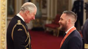 Tom Hardy Receives CBE For Services To Drama