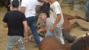 Ricky Gervais Hits Out At Spanish Festival Where People Brutally Fight Wild Horses