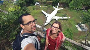 Mysterious Aeroplane Appears In Bali And No One Knows Why