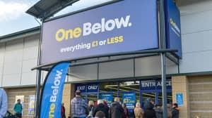 'Britain's Biggest Pound Shop' One Below Opens In Bradford