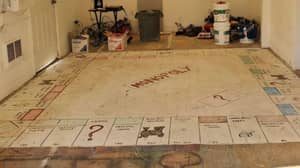 Homeowners Rip Up Carpet And Discover Huge Monopoly Board Underneath