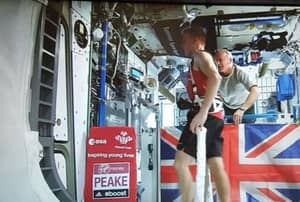Tim Peake Ran The London Marathon In Space Because He Never Rests