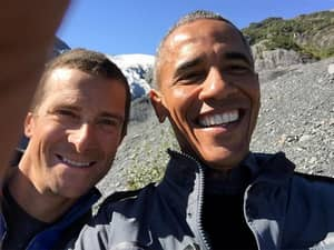 Bear Grylls Reveals Just How Much Security Obama Has And It's A Shitload