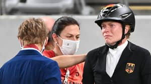 Footage Shows Coach Punching Horse At Olympic Games