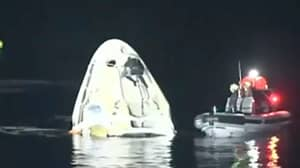 SpaceX Completes First Nighttime Splashdown Landing Since Apollo 8 In 1968