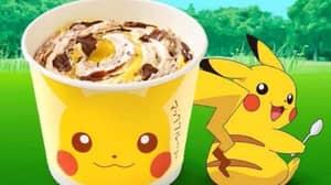 McDonald's Launches The Pokémon McFlurry In Japan