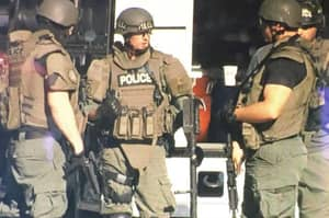 Police Officers Have 11-Hour Stand Off To Find It Was With An Empty House