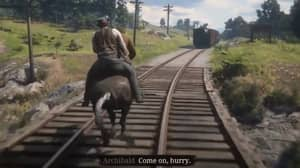 Red Dead Redemption 2 Has A GTA: San Andreas Easter Egg