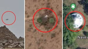 7 Of The Freakiest 'UFO Sightings' On Google Maps