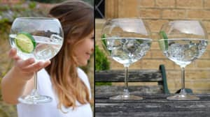 If You Love Gin You Should Really Drink It Out Of These Huge Gin Glasses