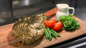 Restaurant Rivals Salt Bae With Golden Steaks That Are £500 Cheaper