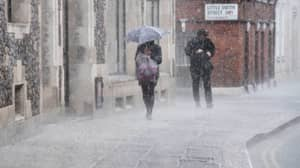 Post-Heatwave Thunderstorm Set To Douse Britain With Rain And Hail