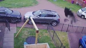 Mum Calls Priest To Bless Home After 'Weird' Spooky Figure Seen On CCTV