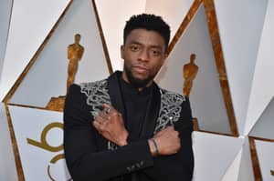 'Black Panther' star Chadwick Boseman Is Sick Of Doing The Wakanda Forever Salute