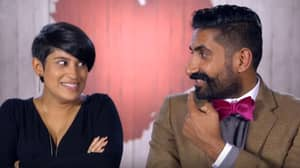 'First Dates': Woman Savages Guy's Moustache And The Tension Is Unbearable