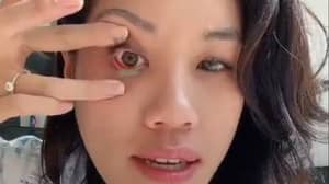 Woman's Tip For Removing Contact Lenses Is Making People's Lives Much Easier