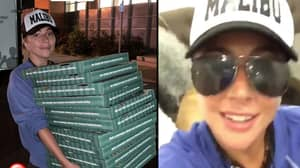 Lady Gaga Surprises Evacuation Centre By Rocking Up With Pizza And Coffee