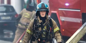 Check Out Her Gunns - The Firefighter Who Smashed It - Gunn Narten