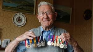Cruel Thieves Steal Medals Belonging To 106-Year-Old WW2 Veteran