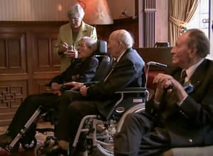 Last Remaining 'England Sailors' World War II Veterans Meet For The Last Time