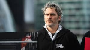 Actor Joaquin Phoenix Urges The World To Go Vegan In London Protest