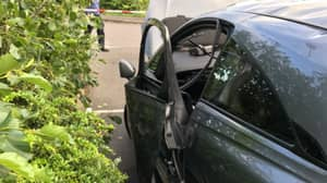 Man Has Lucky Escape After Air Freshener Explodes In Car