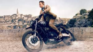 More Than £50,000 Of Coca-Cola Used In James Bond Motorbike Stunt