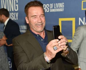 Arnold Schwarzenegger Just Got His Bodyguard Out Of A Fine By Having A Selfie
