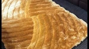 Woman Shows Off New Rug Online And People Compare It To A Greggs Steak Bake