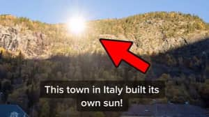 Italian Village 'Built Own Sun' To Combat Three Months Of Darkness