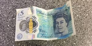 This Is Apparently What Happens When You Tumble Dry The New £5 Note