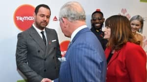 Danny Dyer Boasts To Prince Charles About His Royal Connections